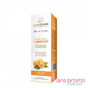 Almaflore Huile végétale d'abricot 50ML